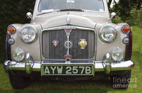 Photograph - Classic Cars - Rover 110  by Doc Braham