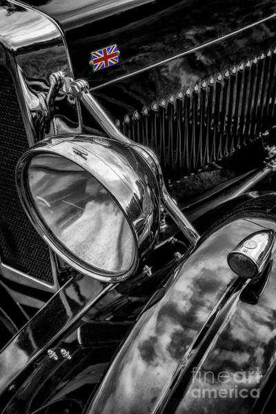 Wall Art - Photograph - Classic Britsh Mg by Adrian Evans