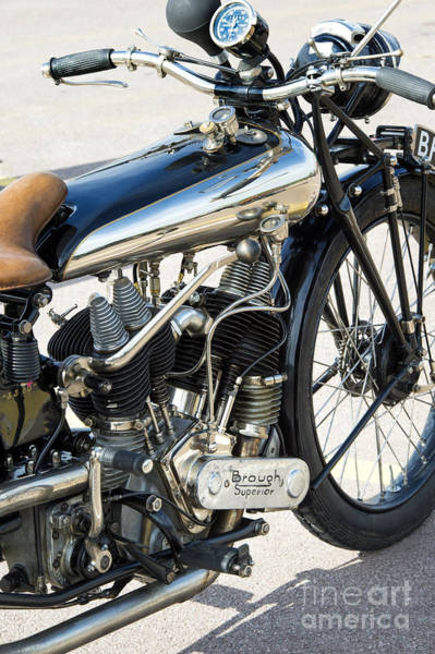 Photograph - Classic Brough Superior Ss80 by Tim Gainey