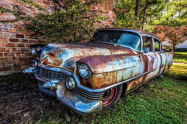 Wall Art - Photograph - Classic Cadillac In Hdr Detail by Debra and Dave Vanderlaan