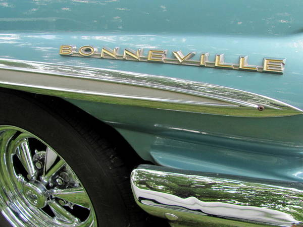 Photograph - Classic Car Bonneville 1 by Anita Burgermeister