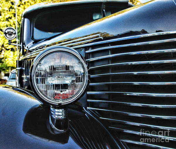 Wall Art - Photograph - Classic Car Classic Lines by Paul Ward