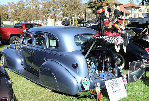Kahlo Photograph - Classic Car Decorations Day Dead  by Chuck Kuhn