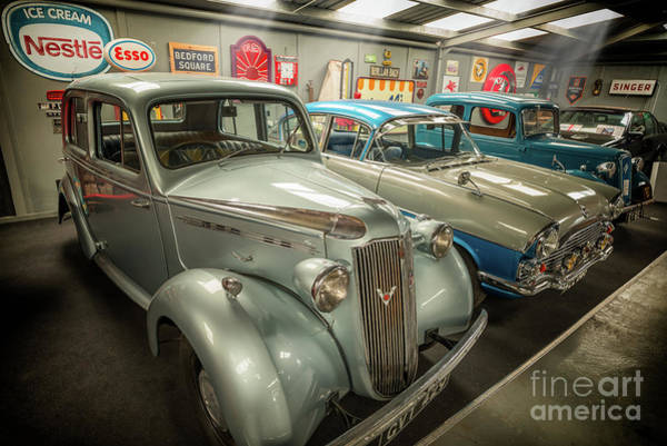Wall Art - Photograph - Classic Car Memorabilia by Adrian Evans