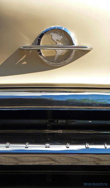 Grill Photograph - Classic Car Oldsmobile Grill by Garth Glazier