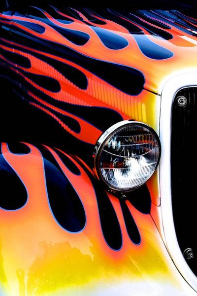 Photograph - Classic Car Paint Upgrade by Polly Castor
