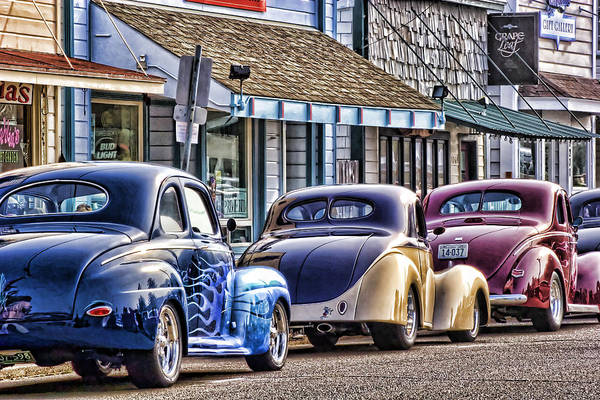 Roadster Wall Art - Photograph - Classic Car Show by Carol Leigh