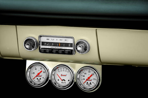Car Stereo Photograph - Classic Car by Steven Michael