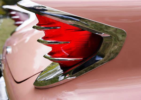Wall Art - Photograph - Classic Car Tailfin by Oscar Gutierrez