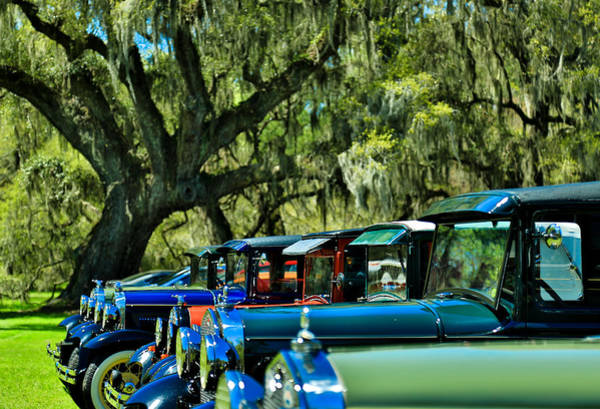 Photograph - Classic Cars At Magnolia Plantation by Donnie Whitaker