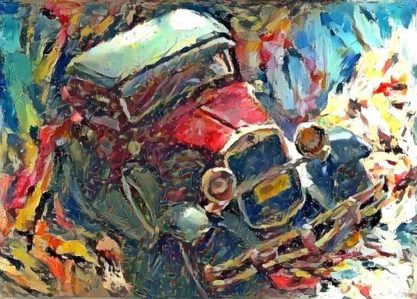 Super Car Mixed Media - Classic Cars by Douglas Sacha
