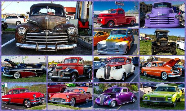 Photograph - Classic Cars by Robert L Jackson