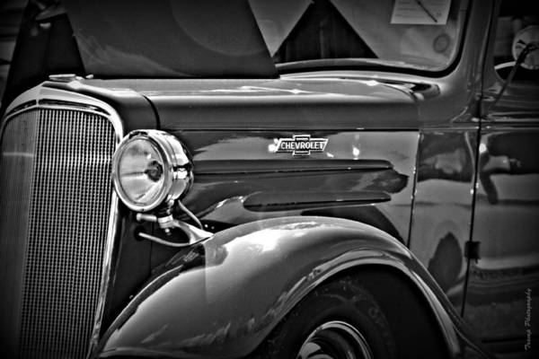 Photograph - Classic Chevrolet by Wesley Nesbitt