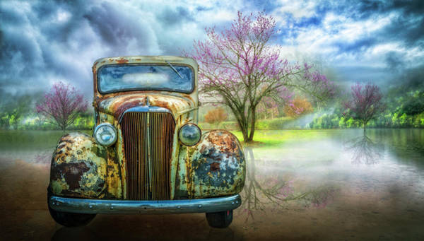 Photograph - Classic Chevy Pickup 1937 by Debra and Dave Vanderlaan