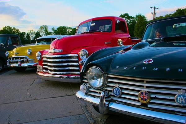 Photograph - Classic Chrome Bumpers by Polly Castor