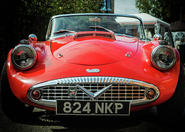 Photograph - Classic Daimler Sports Car by Nick Bywater