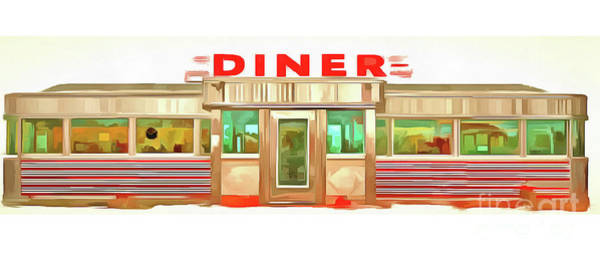 Wall Art - Photograph - Classic Diner Mug by Edward Fielding