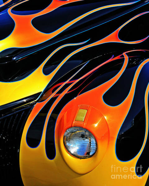 Wall Art - Photograph - Classic Flames by Perry Webster