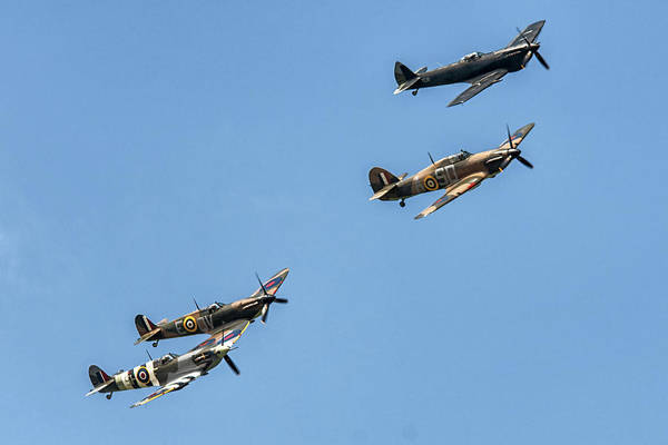 Photograph - Classic Flight Ww2 Planes by Cliff Norton