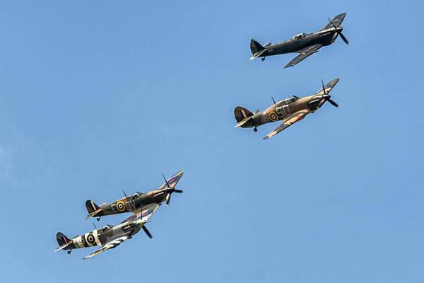 Photograph - Classic Flight Ww2 Planes by Cliff Norton