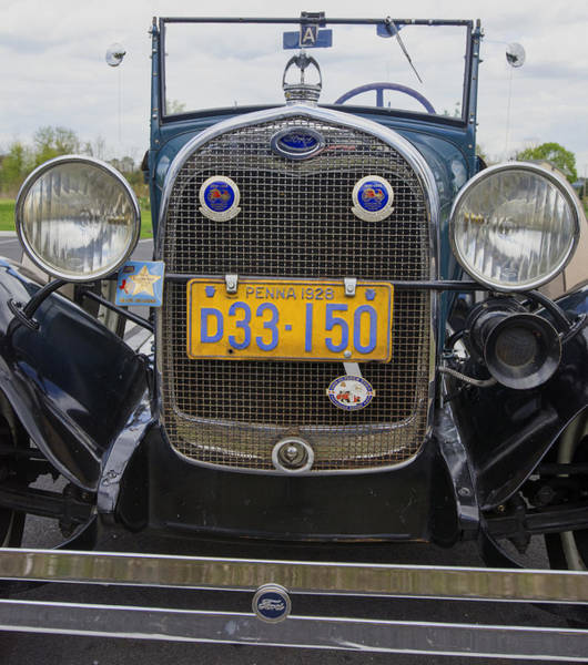 Photograph - Classic Ford Car by Paul Ross