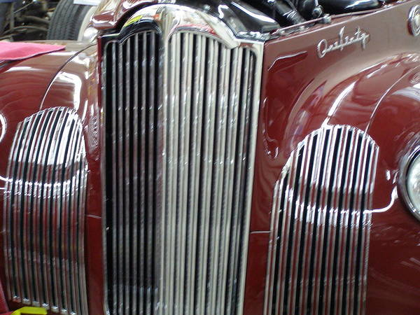 Photograph - Classic Grille by Alan Johnson