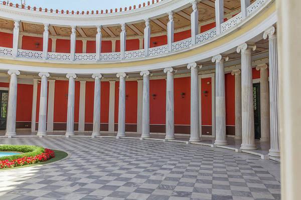 Wall Art - Photograph - Classic Harmony In Zappeion Hall Yard, Athens, Greece by Iordanis Pallikaras