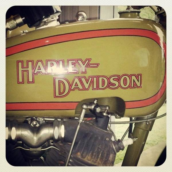 Wall Art - Photograph - Classic Hd  #harley #harley_davidson by Drawspots Illustrations