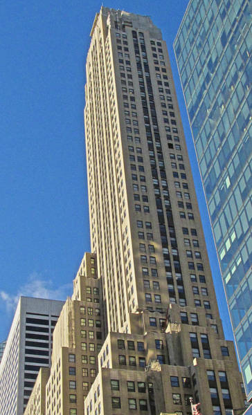 Photograph - Classic Highrise Midtown by Steven Lapkin