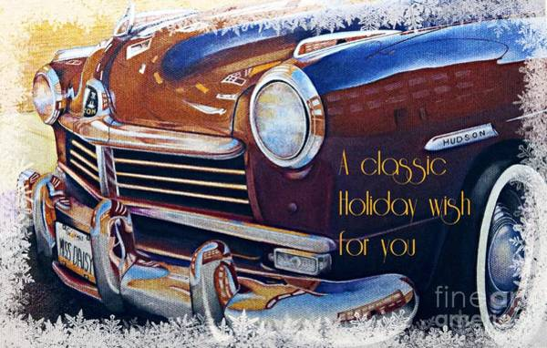 Drawing - Classic Holiday by David Neace