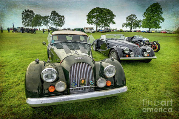 Morgan Photograph - Classic Morgans by Adrian Evans
