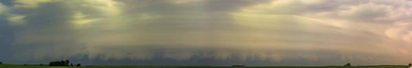 Photograph - Classic Nebraska Shelf Cloud 002 by NebraskaSC