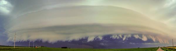 Photograph - Classic Nebraska Shelf Cloud 019 by NebraskaSC