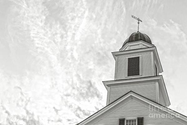 Classic New England Church Etna New Hampshire Art Print