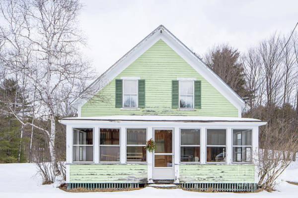 Wall Art - Photograph - Classic New Englander Home by Edward Fielding