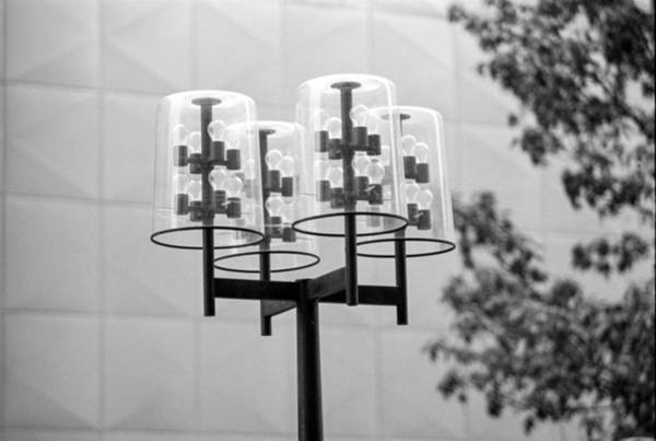 Photograph - Classic Nicollet Mall Street Lamp by Mike Evangelist
