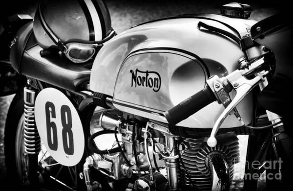 Photograph - Classic Norton Cafe Racer  by Tim Gainey