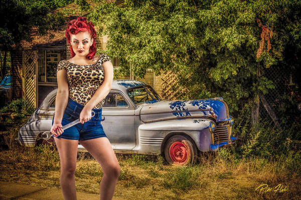 Photograph - Classic Pinup by Rikk Flohr