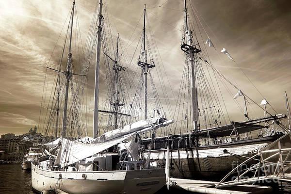 Photograph - Classic Sailboats by John Rizzuto