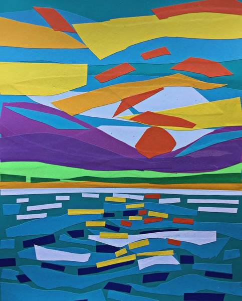Classic Sunset Art Print