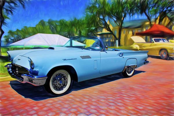 Photograph - Classic Thunderbird by Carlos Diaz