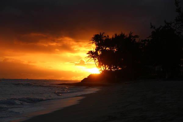 Bodyboard Photograph - Classic Tropical Sunset by Benen  Weir