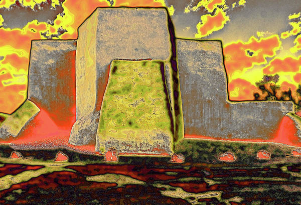 Digital Art - Classic View As Pop Art by Charles Muhle