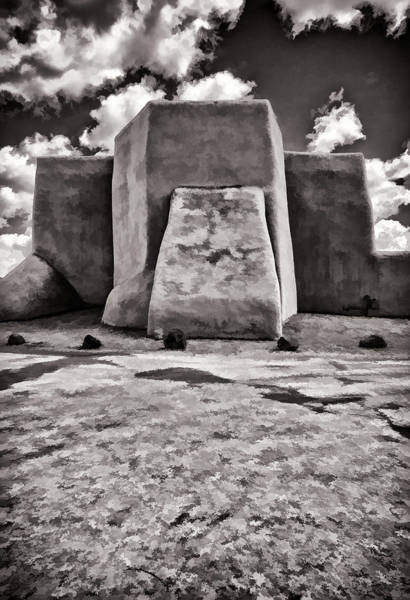Photograph - Classic View  In Black And White by Charles Muhle