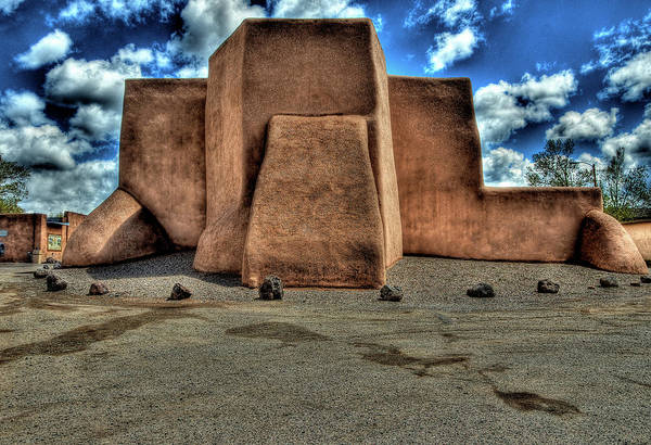 Digital Art - Classic View Of Church In Ranchos Pmp by Charles Muhle
