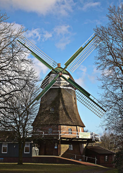 Photograph - Classic Windmill In Germany by Tatiana Travelways