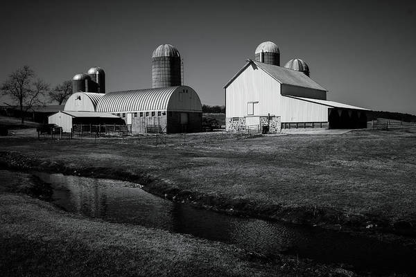 Photograph - Classic Wisconsin Farm by Viviana  Nadowski