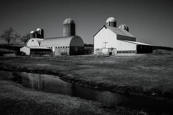 Classic Wisconsin Farm Art Print