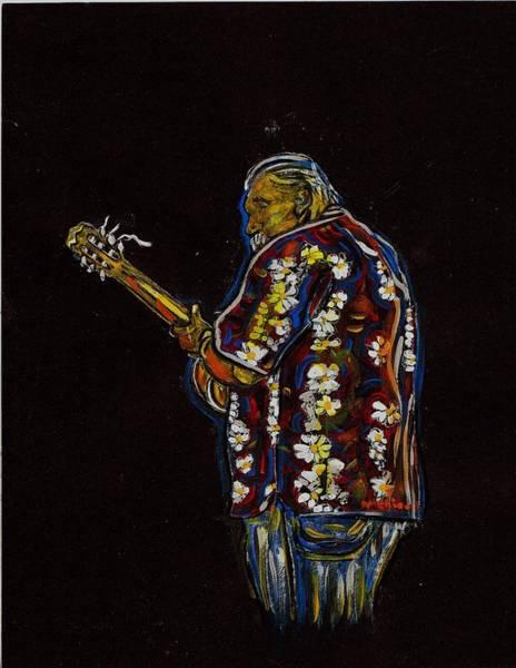 Ranchera Wall Art - Painting - Classical Guitar Player by Americo Salazar
