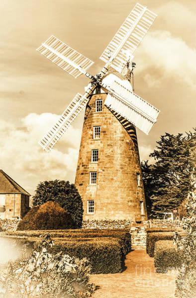 Photograph - Classical Oatlands Callington Mill  by Jorgo Photography - Wall Art Gallery